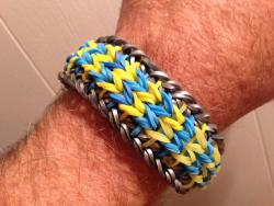 My magic loom running bracelet